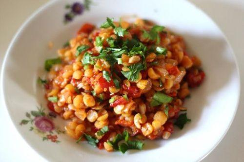 Вегетарианские блюда из гороха