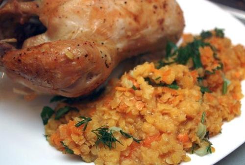 Правильное питание гарнир к курице